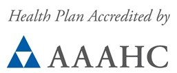 Health plan accredited by AAAHC.
